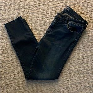 Abercrombie and Fitch Low rise ankle jeans